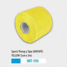 Kineziológiai tapasz 5cmX5m - sárga