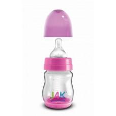 Szélesszájú cumisüveg 160ml - pink