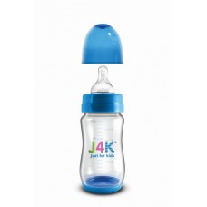 Szélesszájú cumisüveg 260ml - kék
