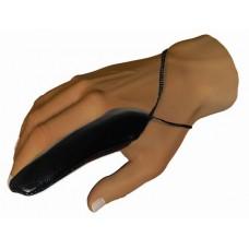 Fekete ujjvédő M/L