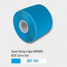 Kineziológiai tapasz 5cmX5m - kék