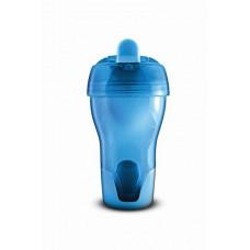 Itató pohár csőrös - kék 150 ml
